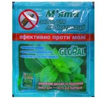 Таблетки от моли Global - мята