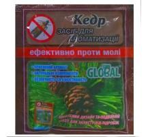 Таблетки от моли Global - кедр